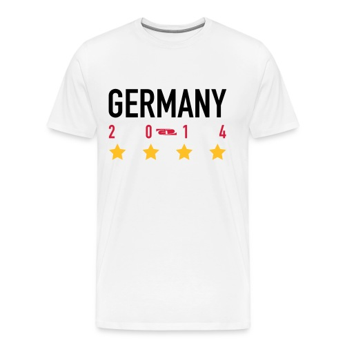 Germany 2014 by GLDezigns - Männer Premium T-Shirt