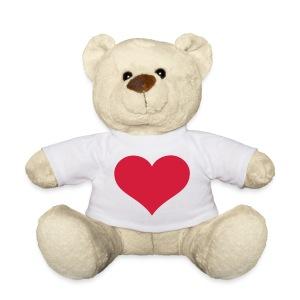 TeddyBeer met hart - Teddy