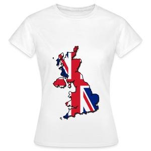 UK - Great Britain T-Shirt  - Women's T-Shirt
