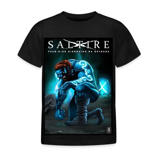 Saltire Ionnsaigh Gaelic Tshirt Kids - Kids' T-Shirt