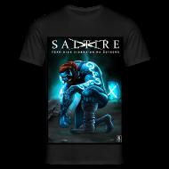 T-Shirts ~ Men's T-Shirt ~ Saltire Ionnsaigh Gaelic Tshirt Mens
