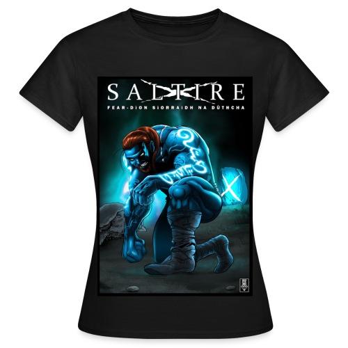 Saltire Ionnsaigh Gaelic Tshirt Women - Women's T-Shirt