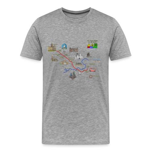 A146 Grey tshirt - Men's Premium T-Shirt
