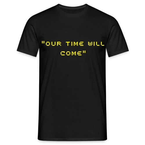 Our Time Will Come Black Mens Tee - Men's T-Shirt