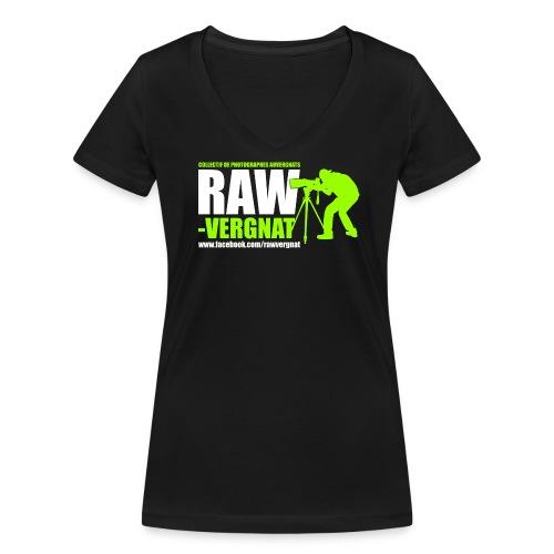 Tee-shirt Col V Femme RAWvergnat - T-shirt bio col V Stanley & Stella Femme