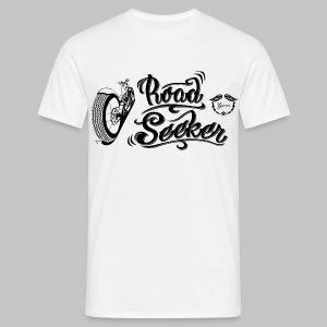 Road Seeker V Twin - Black logo - Men's T-Shirt