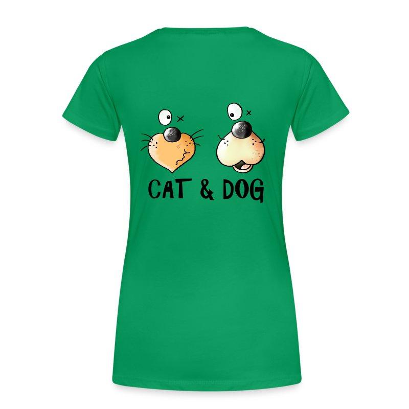 tee shirt cat dog chat et chien spreadshirt. Black Bedroom Furniture Sets. Home Design Ideas
