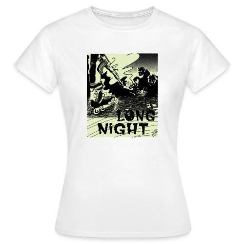 Camiseta mujer Long Night - Camiseta mujer