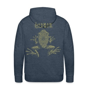 Larman Clamor - Frogs - Men's Premium Hoodie