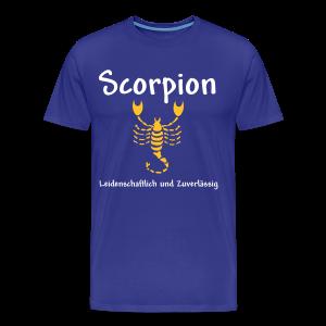 Sternzeichen Scorpion - Männer Premium T-Shirt