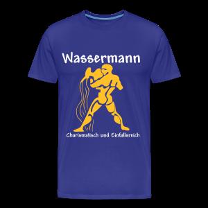 Sternzeichen Wassermann - Männer Premium T-Shirt
