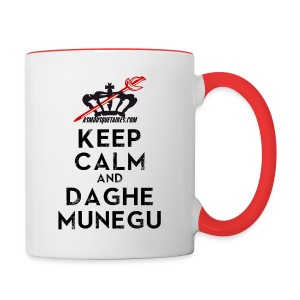 Mug Keep Calm Munegu - Tasse bicolore