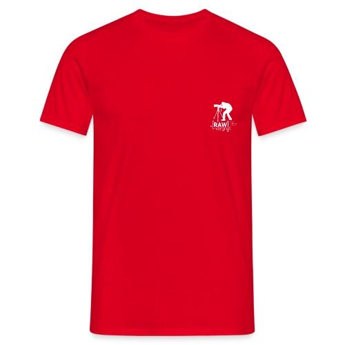 Tee-Shirt Homme petit logo coeur RAWvergnat - T-shirt Homme