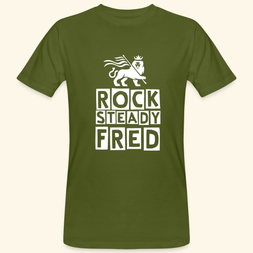 Rocksteady Fred Lion - Men's Organic T-Shirt