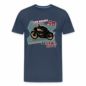 Life begins at 50 - Men's Premium T-Shirt