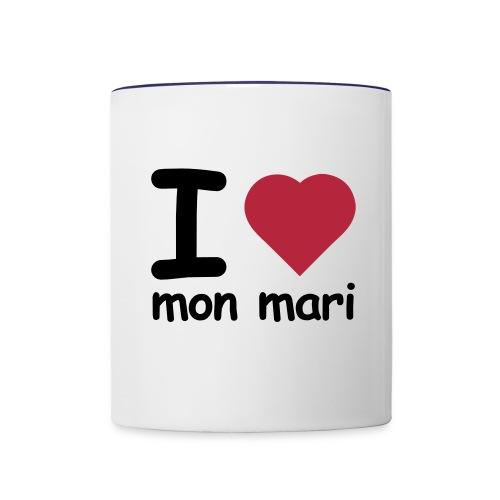 TOI + MOI - Mug contrasté