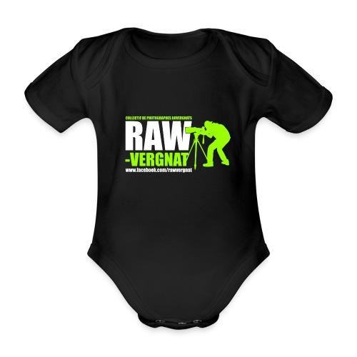 Body Bébé RAWvergnat - Body bébé bio manches courtes