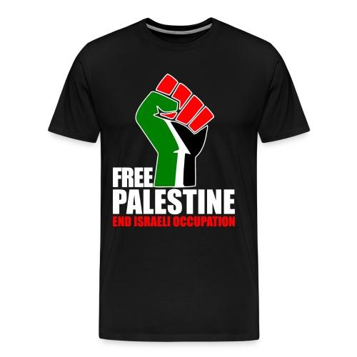 FREE PALESTINE - Camiseta premium hombre