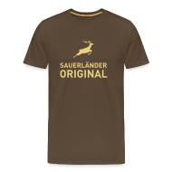 T-Shirts ~ Männer Premium T-Shirt ~ Sauerländer Original