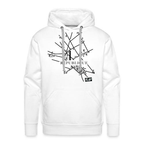REPUBLIQUE - Sweat-shirt à capuche Premium pour hommes