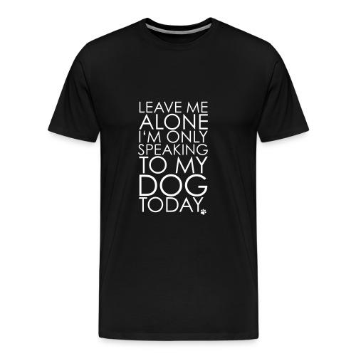 Dog whisperer - Men's Premium T-Shirt