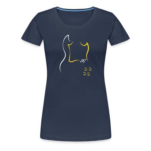 Gibson SG T-Shirts - Frauen Premium T-Shirt