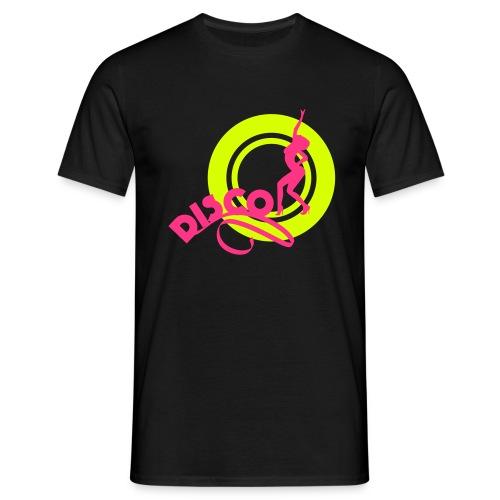 02 disco cercle vert fill - T-shirt Homme