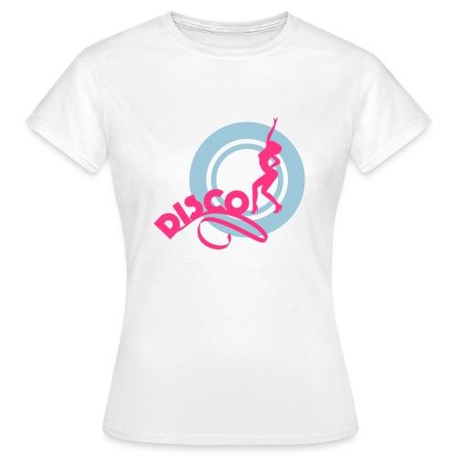 02 disco cercle vert fill - T-shirt Femme