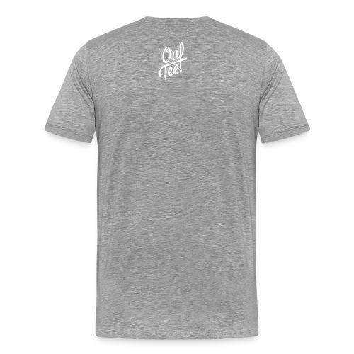 skull white - T-shirt Premium Homme