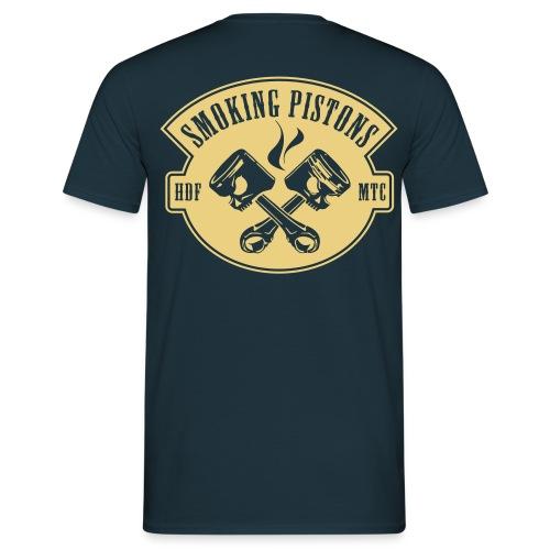 SP T-Shirt met back print. - Mannen T-shirt