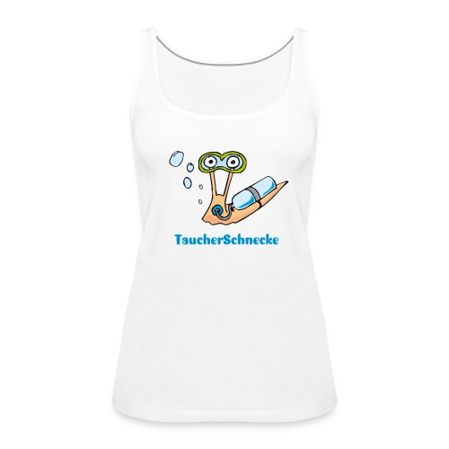 TaucherSchnecke Top  - Frauen Premium Tank Top