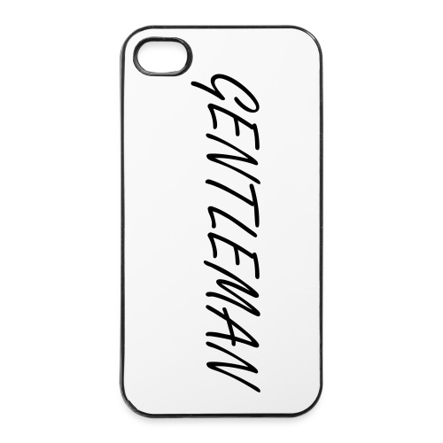 Gentleman iPhone 5/5S Hardcase - iPhone 4/4s Hard Case