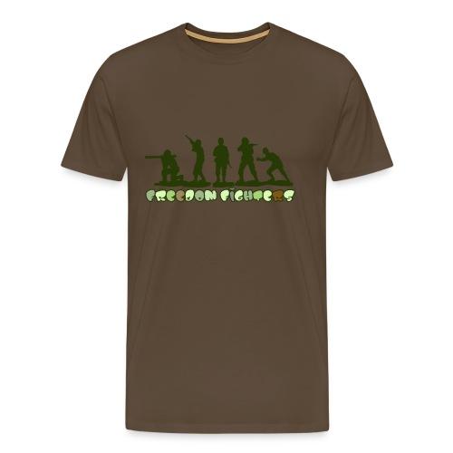 Freedom Fighters - Herre premium T-shirt