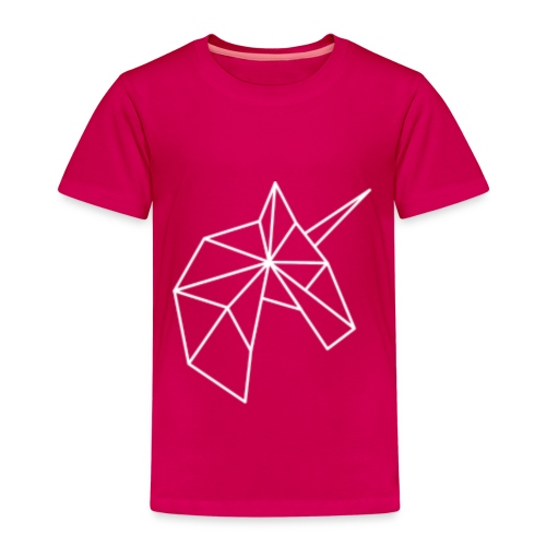 Kinder T-shirt Unicorn van Zeldzaam Mooi - Kinderen Premium T-shirt