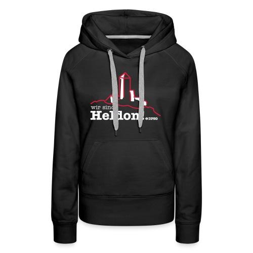 Heldon Girlie Hoodie - Frauen Premium Hoodie