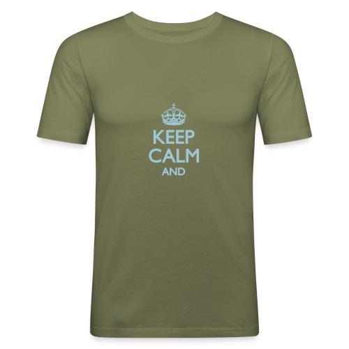 T-shirt keep calm - T-shirt près du corps Homme