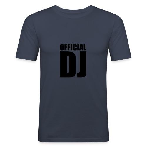 T-shirt official dj - T-shirt près du corps Homme