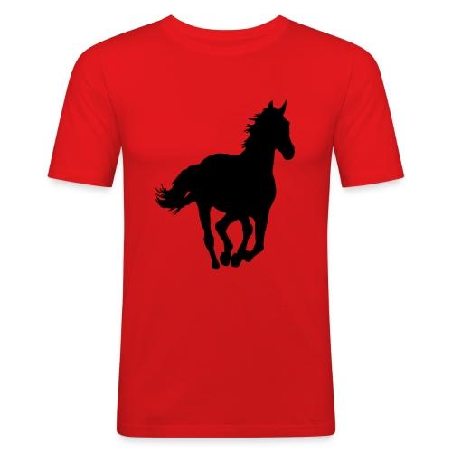 T-shirt cheval - T-shirt près du corps Homme