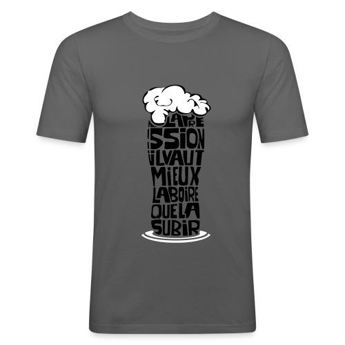 T-shirt la pression - T-shirt près du corps Homme