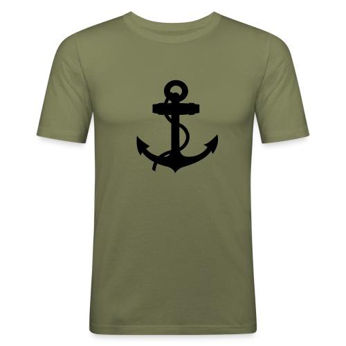 T-shirt ancre marine - T-shirt près du corps Homme