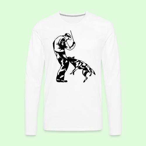 Mordant sportif - T-shirt manches longues Premium Homme