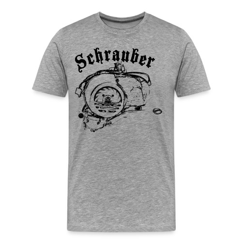 PX Schrauber MAN - Männer Premium T-Shirt