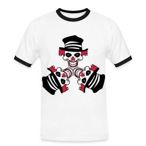 Kwade Clowns - Mannen contrastshirt
