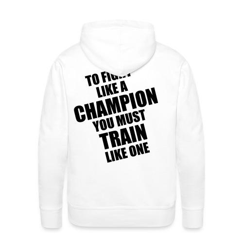 FightHard - Mannen Premium hoodie