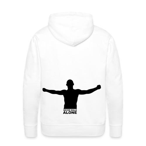 NeverWalkAlone - Mannen Premium hoodie