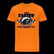 T-Shirts ~ Men's Premium T-Shirt ~ Much Faster!