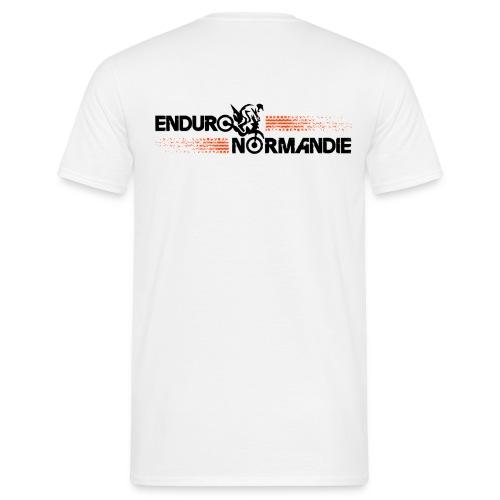 T shirt 2 logos Enduro Normandie - T-shirt Homme