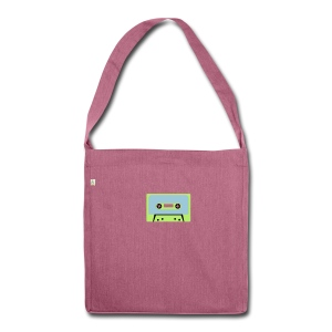 Kassette recycled Bag - Schultertasche aus Recycling-Material