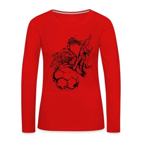 Handball - Frauen Premium Langarmshirt