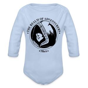 Baby 6 - Langærmet babybody, økologisk bomuld